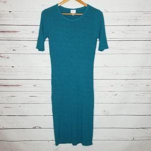 Lularoe tshirt dress ribbed medium